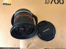 Dijual lensa samyang 12mm f2 mount sony