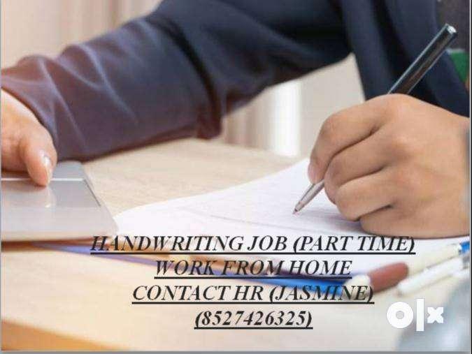WORK FROM HOME-HANDWRITING JOB 0