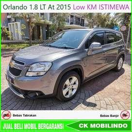 (Dp35jt) Orlando 1.8 LT At 2015 Low KM ISTIMEWA Bisa Kredit