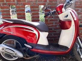 Jual Honda Scoopy 2014