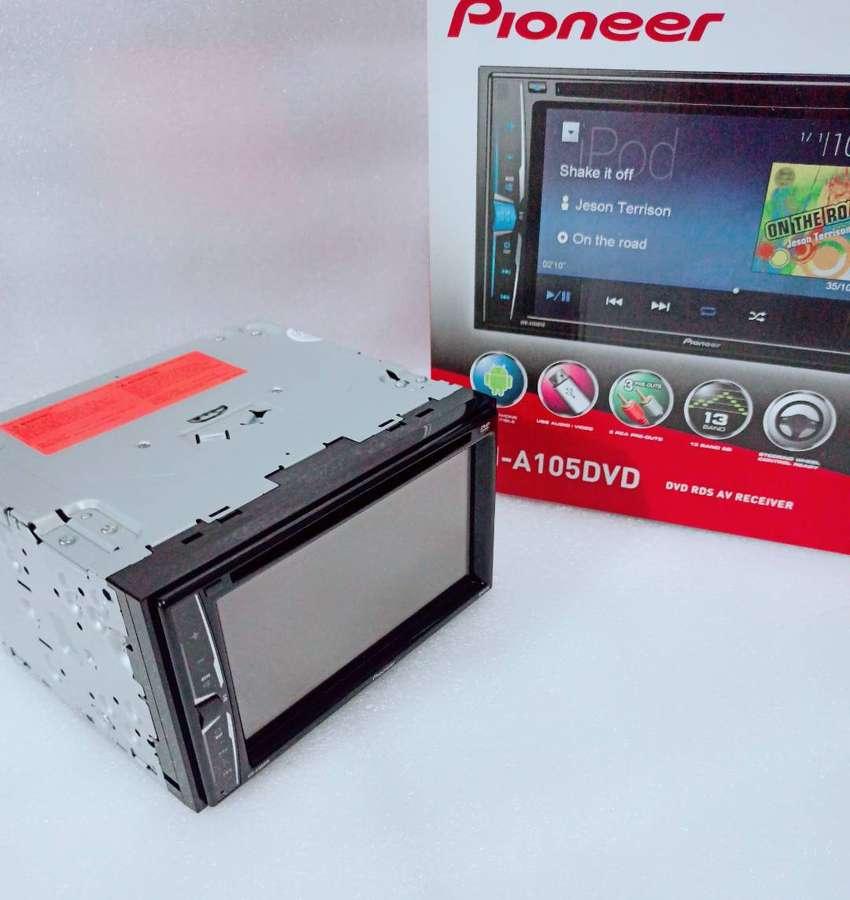 HU Doubledin Pioneer AVH-A105DVD - New - Garansi Resmi 0
