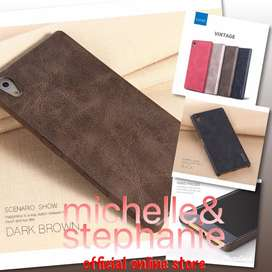 M&S ACCBEST122 - X-LEVEL Leather Sony Z5 / Z5 Premium Z5 Plus Dual