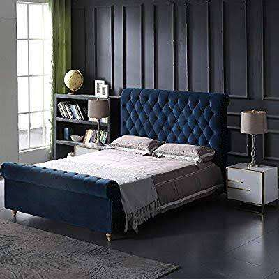 Brand new bed with side tables 0