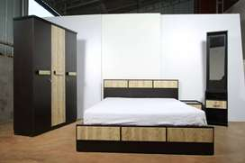 Brand new bedroom set available with cheap price(with 5years )warranty