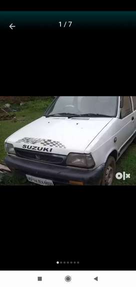 Running condition car no any work one hand drive