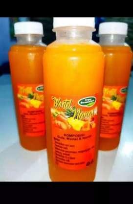 Minuman wortel nanas
