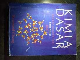jual buku bekas kimia dasar (NEGO)