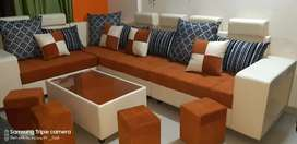 NEW __  L-shape sofa corner
