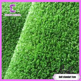 Rumput sintetis type golf standart 1 cm