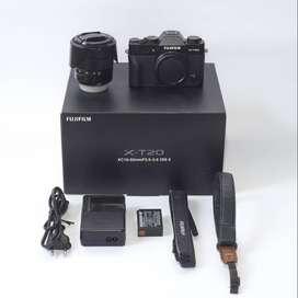 Fujifilm Xt20 + kit 16-50mm Fullset