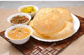 Halwa puri pathura chef