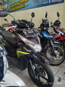 (SPM) Honda Beat 110Fi Thn 2016 Pajak Jalan Mesin Segel Aman Plat H