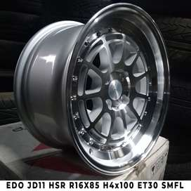 EDO JD11 HSR R16X85 H4x100 ET30 SMFL
