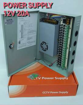 Power Supply BOX 20A 12V