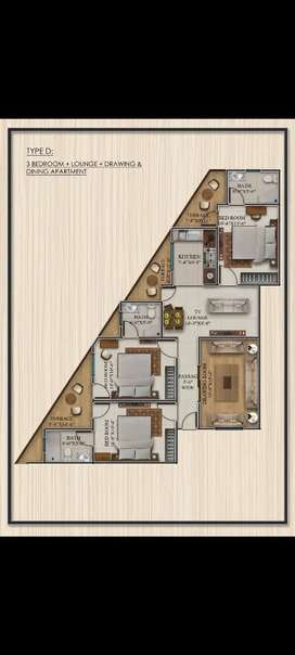 3 Bed DD type D