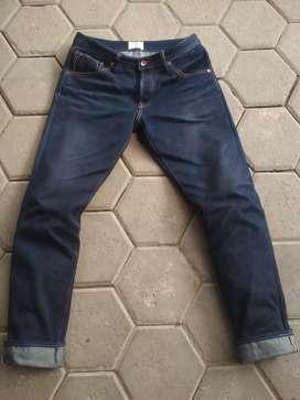 Jeans Denim Blue Muscle Union