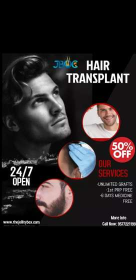 Required male female marketing for hair transplant clinic ....