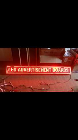 LED Advertising boards, any size,any city,any shop. Order on call