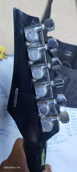 Gitar rockwell hitam mulus