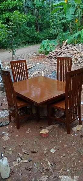 kursi makan meja biasa