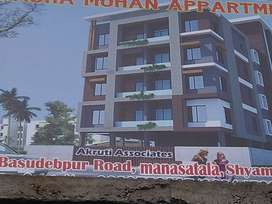 Sale 2 bhk flat for sale in prime location of Shyamnagar