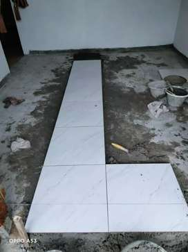 jasa pemasangan marmer granit karamik Batu alam
