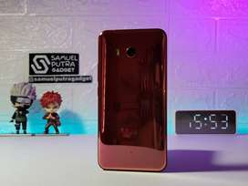 HTC U11 SolarRed 6gb 128gb Rare Sitimewah