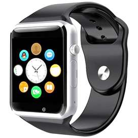 SMART WATCH SILVER W08 WITH GSM SLOT AND BLUETOOTH CONNECTIVITY