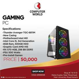 Gaming Pc In Affordable Rates