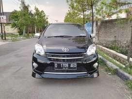 Bismillah Toyota Agya G TRD manual 2016 black Antiq