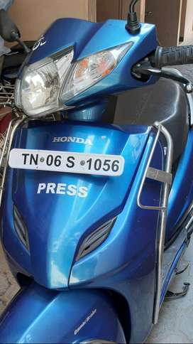 2016 Activa 3G Single owner Blue Color Very good condition bike sale