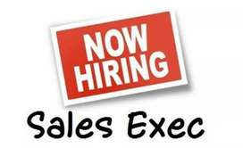 Wanted - Retail Sales Executives