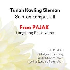 Free Pajak dan Notaris Kavling Kost 3Jt'an SHM Pecah Unit Di Ngaglik J