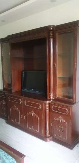 Crockery and TV cabinet