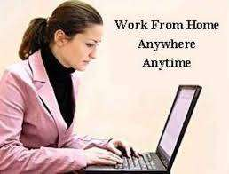 Don't go anywhere when job is available at home.