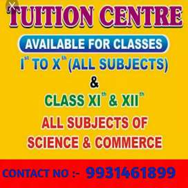 Tuition center for account classes 11 &12 .