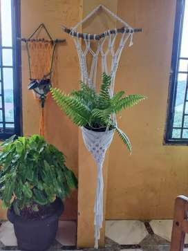 Makrame Gantungan Bunga Pot Handmade