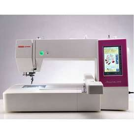 Computer embroidery machine