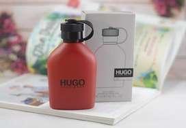 HUGO BOSS RED EDT 125ML ORI TESTER