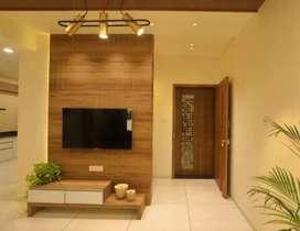 Beautiful 3 Bhk full furnished Flat near Atmiya College,Kalawad Road