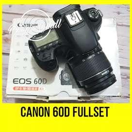 Canon 60D fullset Muraaah