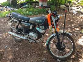My bike is newly modified cost 40000