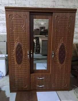 Sri furniture lemari baju 3 pintu import