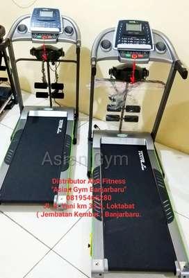 Ready Treadmill Elektrik 2hp Terlaris 3 Fungsi