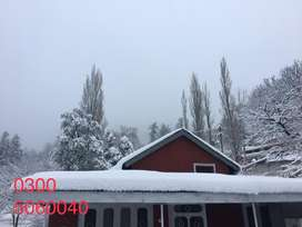 Enjoy snowfall in seperate guest house.