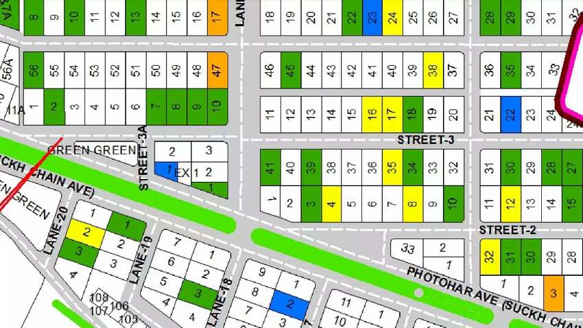 DHA Islamabad Phase-2 & 5 Commercial Plots 0