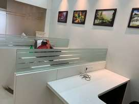 100% corporate style full furnished office redy to move