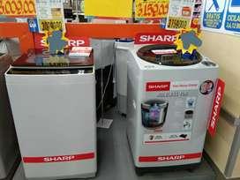 Promo mesin cuci sharp