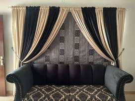 Stapple fabrics Curtains for windows | blackouts