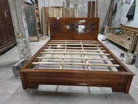 Tempat tidur jati nomor 1 model minimalis rata